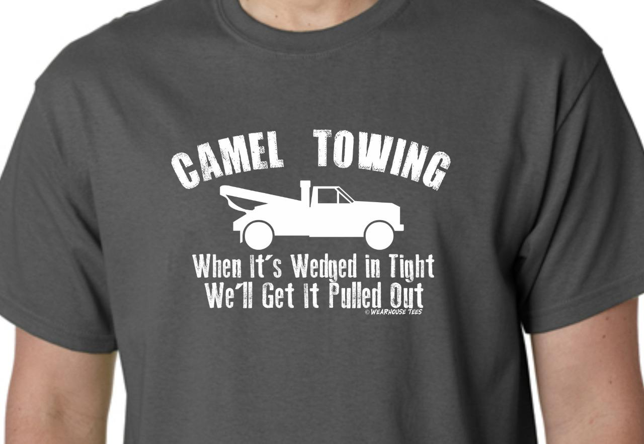 Camel towing t shirt tee funny toe skater redneck country for Frat pocket t shirts