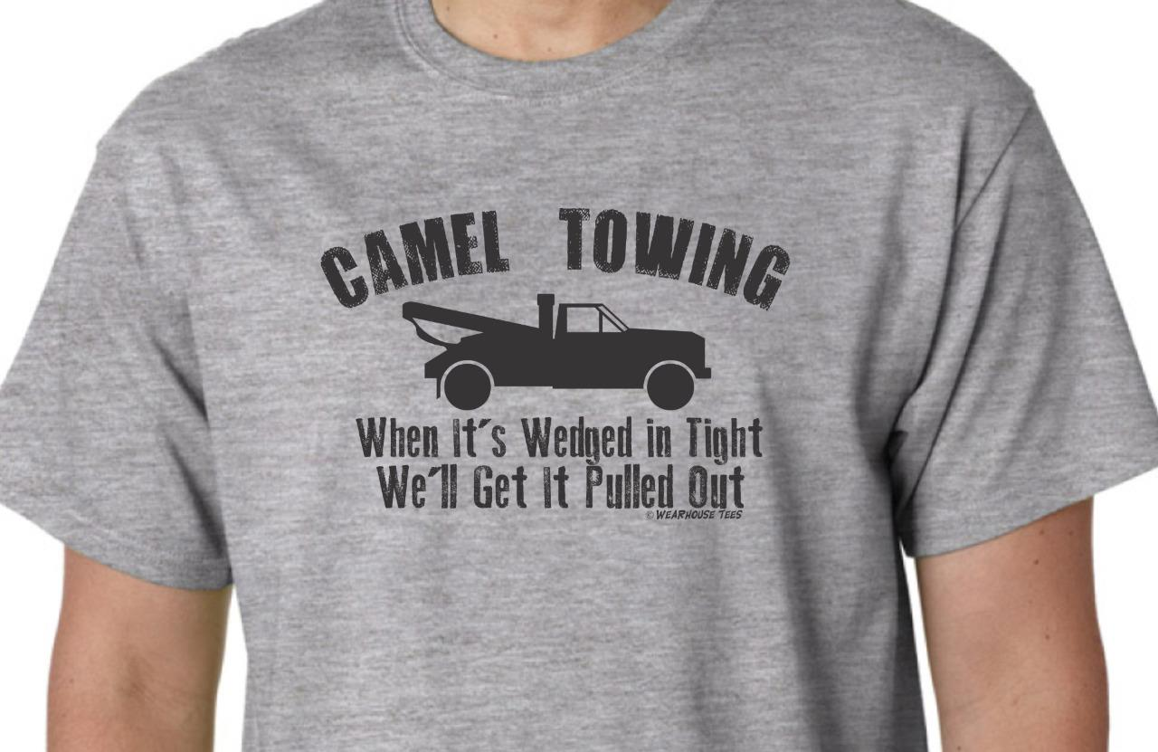 camel towing t shirt tee funny toe vulgar redneck country. Black Bedroom Furniture Sets. Home Design Ideas