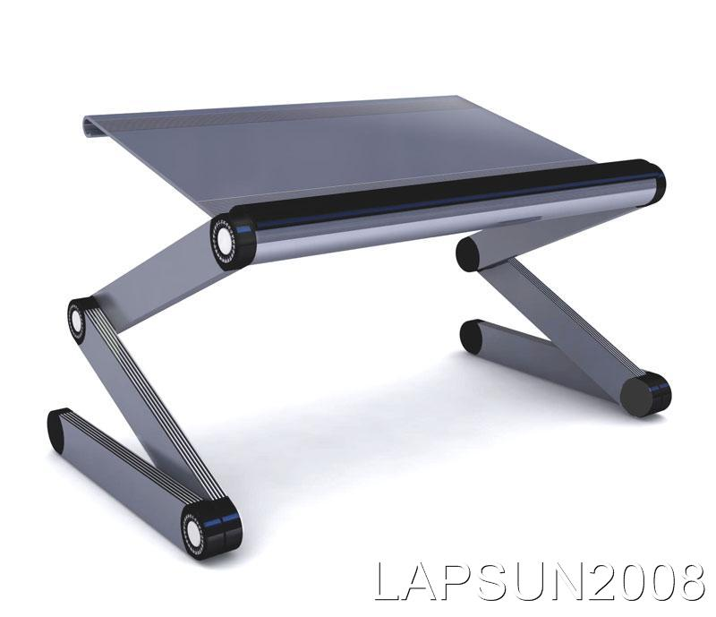 functional multi mobile desk laptop table lap bed fans portable computer stand for sofa with notebook ergonomic