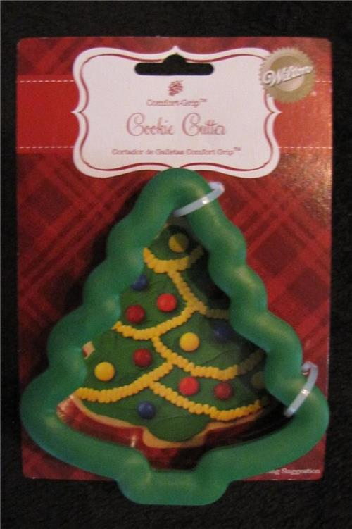 Christmas Cookie Cake Decorating Ideas : Wilton Christmas Cookie Cutters ~Tree~ eBay