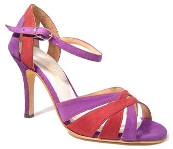 MYTHIQUE Zapatos de TANGO baile salon para dama mujer