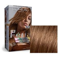 Oreal Feria Shimmg Hair Color Light Golden Brown 63 Warmer New