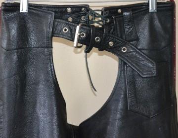Davidson Motorcycle Biker Belted Embossed Multi Zippered Jacket M
