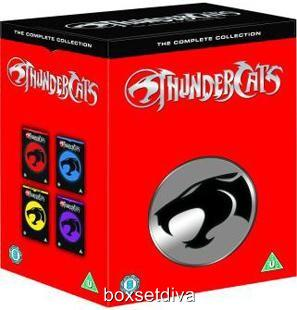 Thundercats Complete Series on Thundercats Complete Series 1 2 Brand New Sealed   Ebay