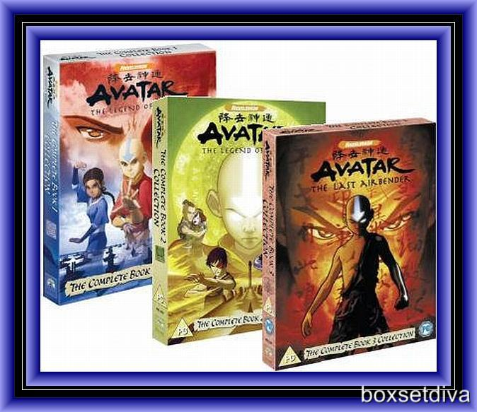 AVATAR: THE LAST AIRBENDER -COMPLETE BOOKS 1 2 & 3