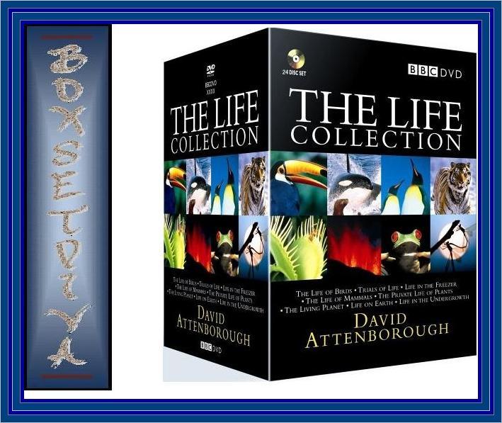 THE-LIFE-COLLECTION-DAVID-ATTENBOROUGH-BBC-DVD-BOXSET-BRAND-NEW