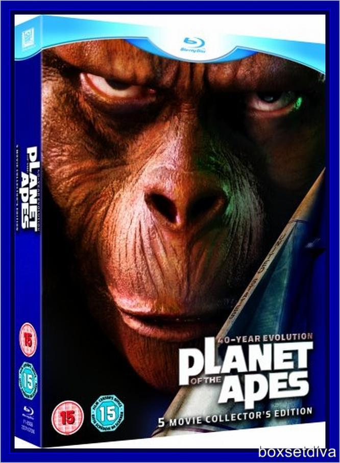 planet of the apes evolution collection blu ray with 180706436316 on Big Brother Eye Logos Through History likewise 180706436316 moreover Pla  Of The Apes 40 Year Evolution Blu Ray Set Details 33267 moreover Index moreover Many Rejected Posters Jurassic Park.