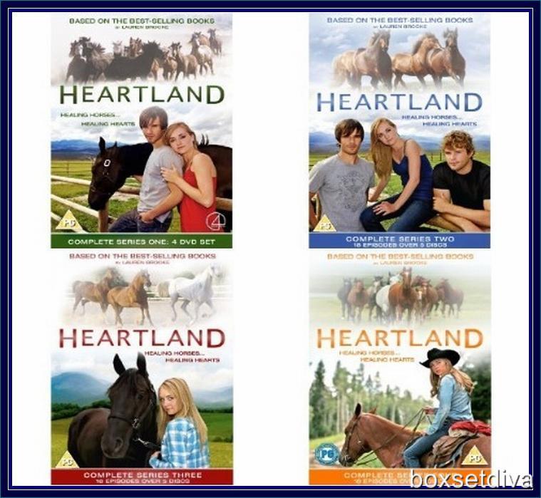 HEARTLAND - SERIES 1 2 3 & 4 - COMPLETE SERIES 1 - 4 ...
