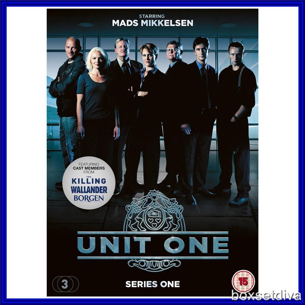 unit 1 complete Dvd complete series - the unit - seasons 1-4 - non-usa format, pal, reg2 import - sweden.