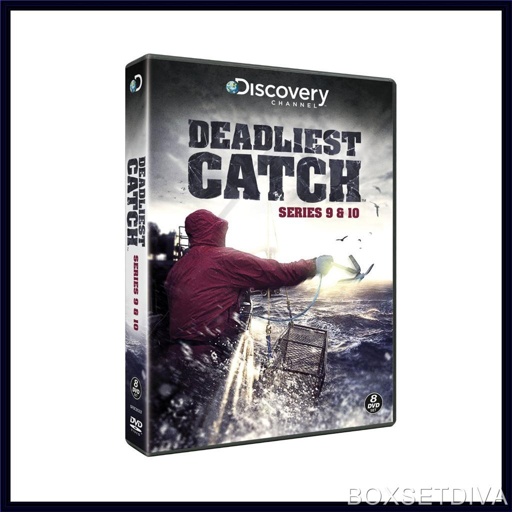 deadliest catch complete series 9 10 brand new dvd boxset ebay. Black Bedroom Furniture Sets. Home Design Ideas