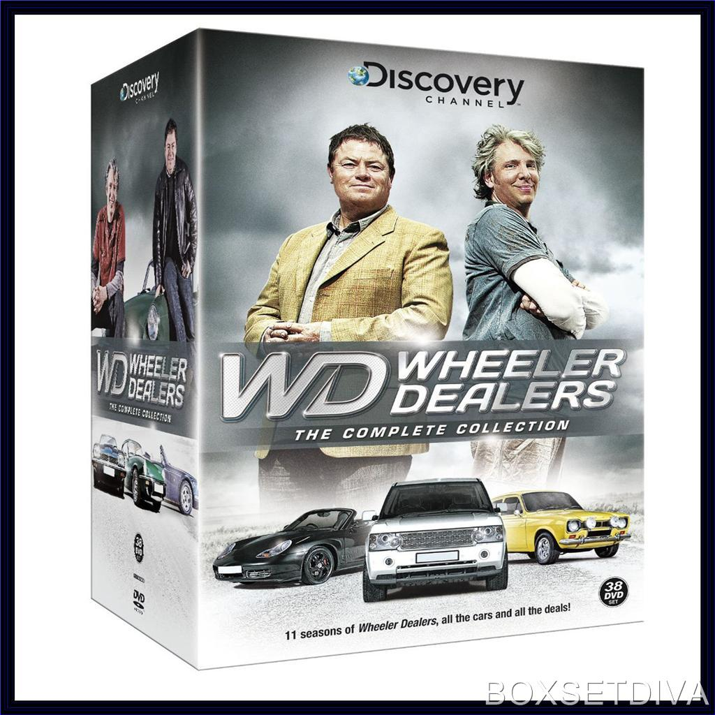 Dealers: THE COMPLETE COLLECTION **BRAND NEW DVD