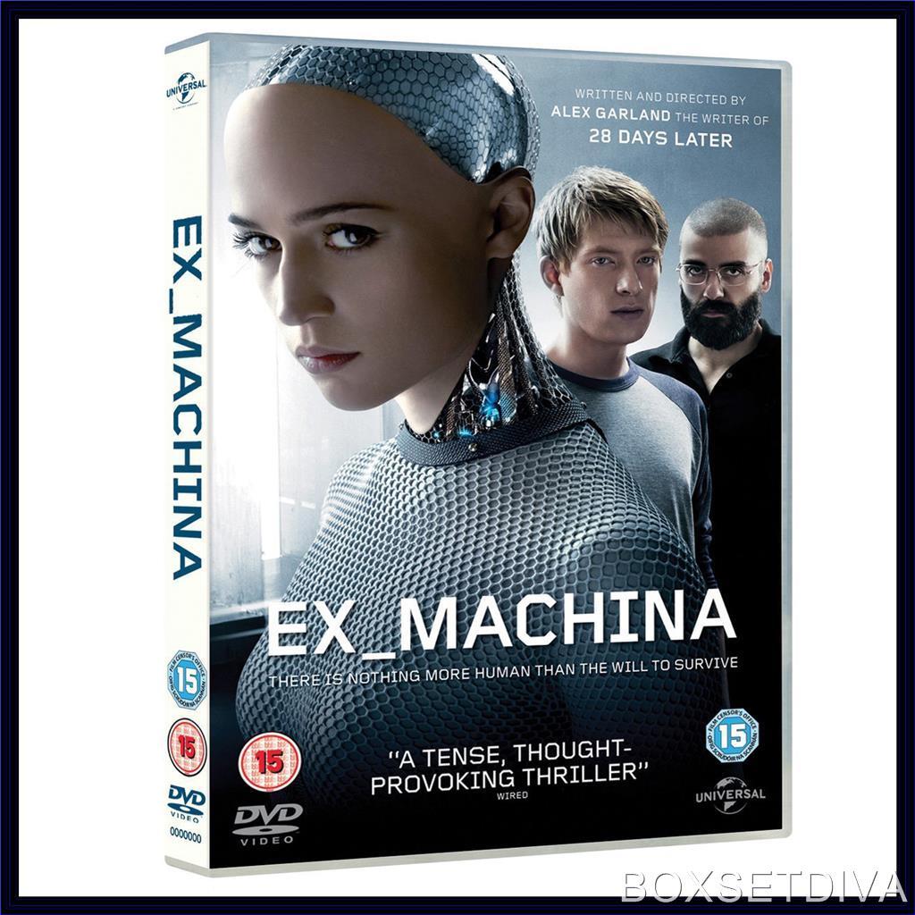 ex machina domhnall gleeson brand new dvd ebay