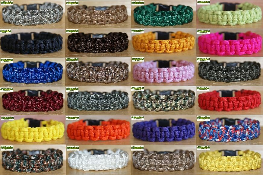 550-PARACORD-BRACELET-KIT-Huge-Choice-of-Colours