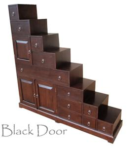 Asian bed platform style teak lips just