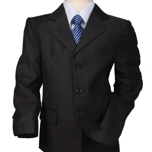 d262 5tlg schwarz kinder anzug hochzeit formal festanzug. Black Bedroom Furniture Sets. Home Design Ideas