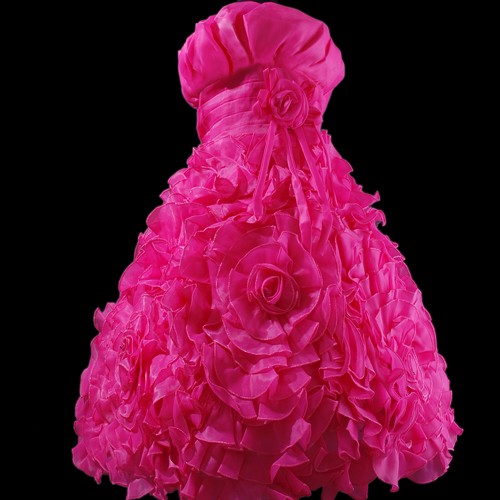 Wedding Flower Girls Party Pageant Dress