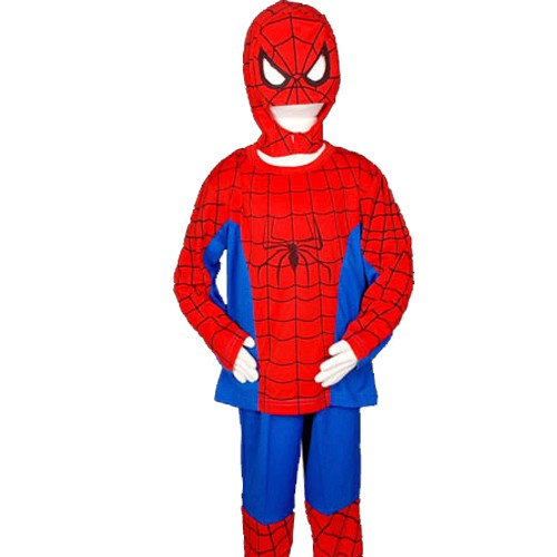 Karneval-Kinder-Spiderman-Batman-Superman-Princess-Fantasie-catoon-Figur-Kostuem