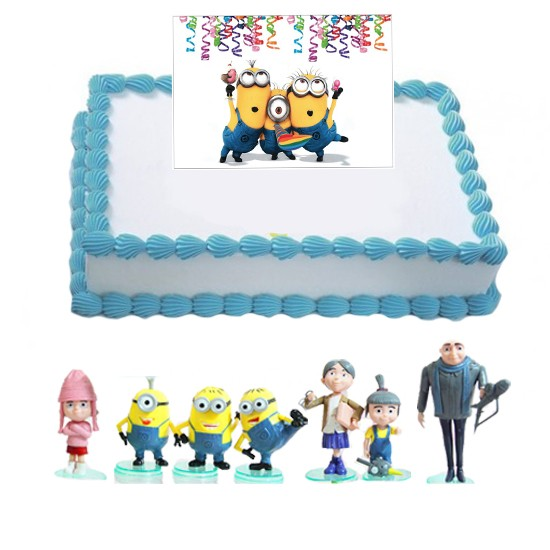 Despicable Me 2 Movie Cake Set - 8 Figures, includes 4 ...