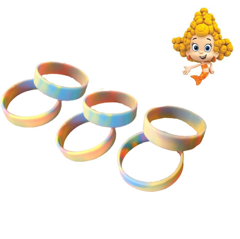 12 child pastel swirl wristband bracelet favors great for Bubbles guppies da colorare