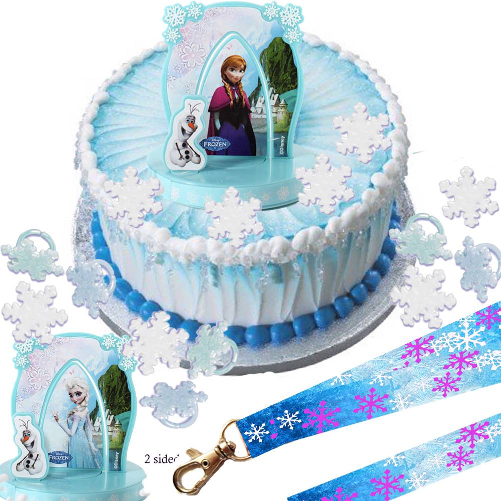 Frozen Character Set For Cakes