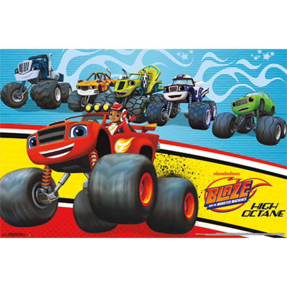 Poster Blaze and the Monster Machines - Party Decoration ...
