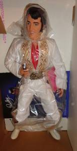Vintage 1984 Elvis Presley Celebrity Collection Supergold