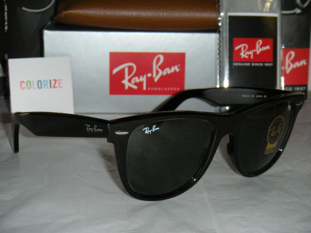 ray ban 2140 black  Ray Ban Wayfarer 2140 Black - Ficts