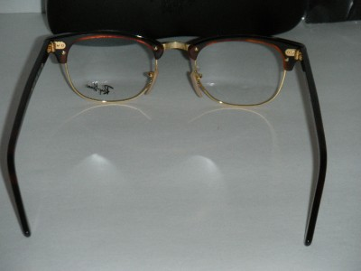 ray ban matte black clubmaster  ray ban clubmaster 5154