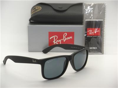 authentic ray bans  Ray Ban Justin: Clothing, Shoes \u0026 Accessories