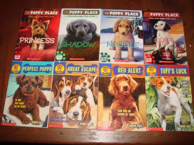 LOT of 13 THE PUPPY PLACE Series Chapter Books by Ellen Miles