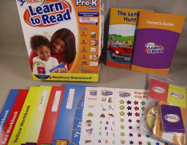 Hooked on phonics learn to read pre edition