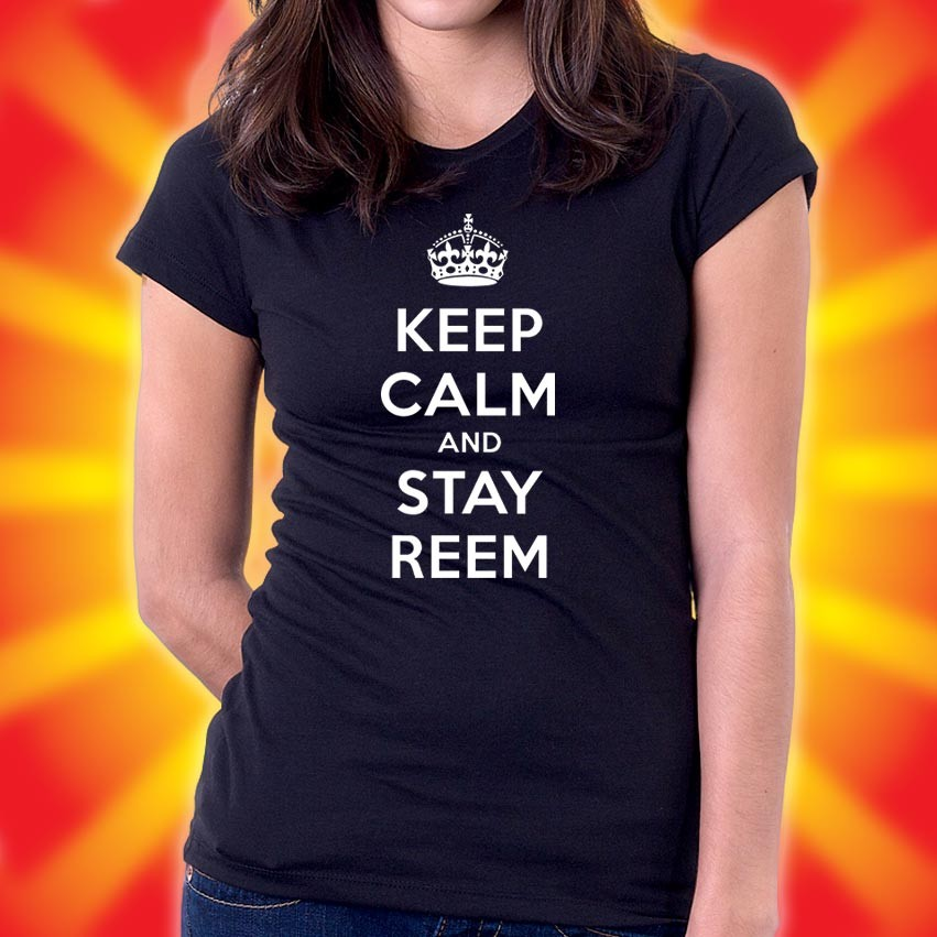 WOMENS-KEEP-CALM-AND-STAY-REEM-TOWIE-ONLY-WAY-IS-ESSEX-T-Shirt-FREE-P-P