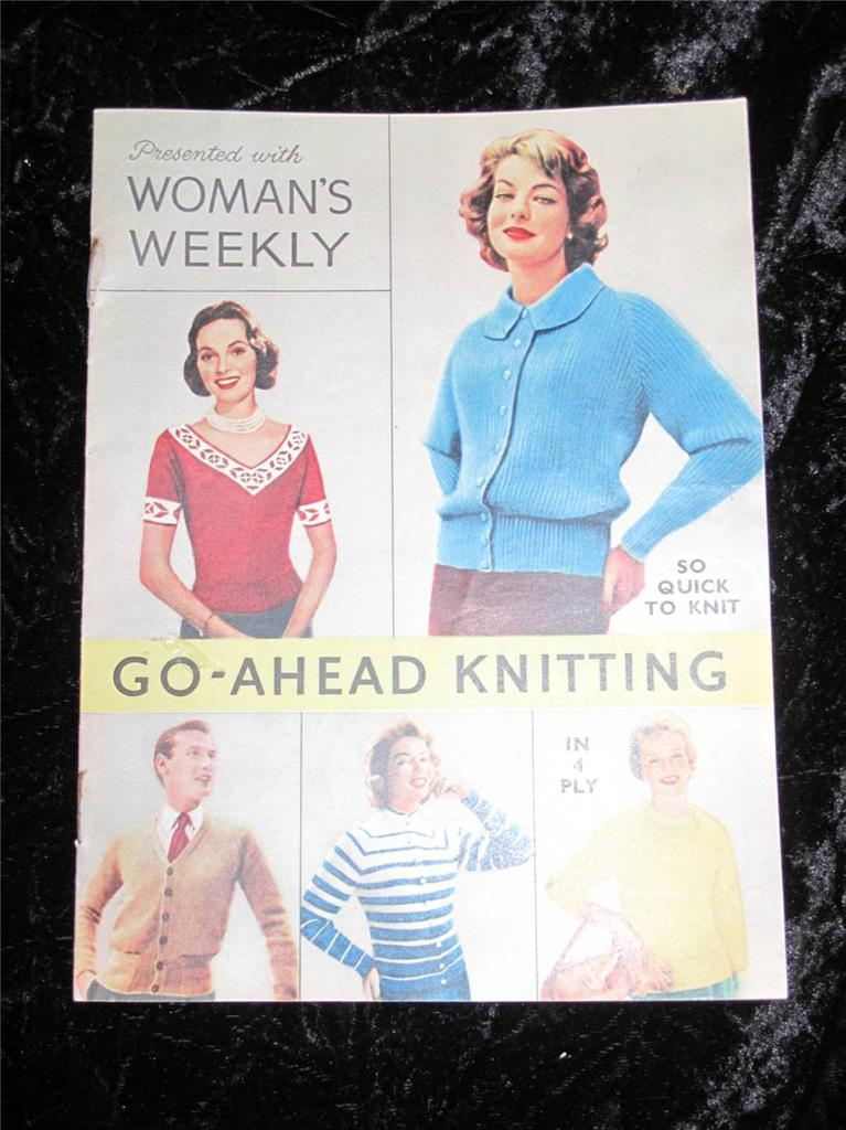 Free Easy Knitted Scarf Patterns : VINTAGE
