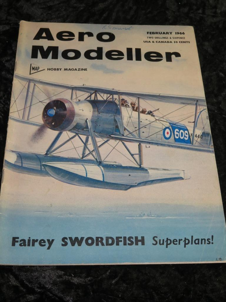 Aero Modeller Magazine Lot 1973 10 Issues Model Airplane