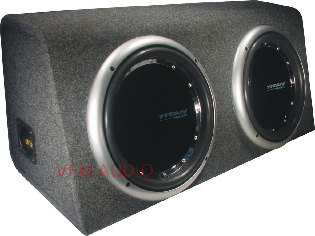 CAR-SUBWOOFER-SPEAKER-DUAL-IN-A-BOX-DUAL-VOICE-COIL-3000W