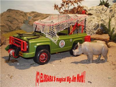big jim safari jeep jungle truck rhino zubeh r. Black Bedroom Furniture Sets. Home Design Ideas