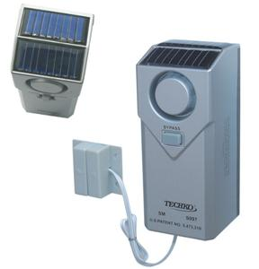 Techko Indoor Outdoor Pool Spa Door Gate Alarm Solar Power 4 Inspection S097