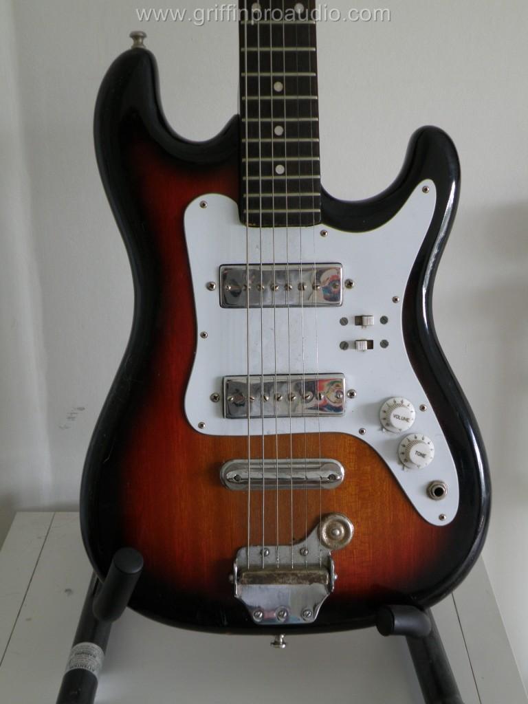 Satellite Stratocaster Junior Vintage Guitar On Popscreen