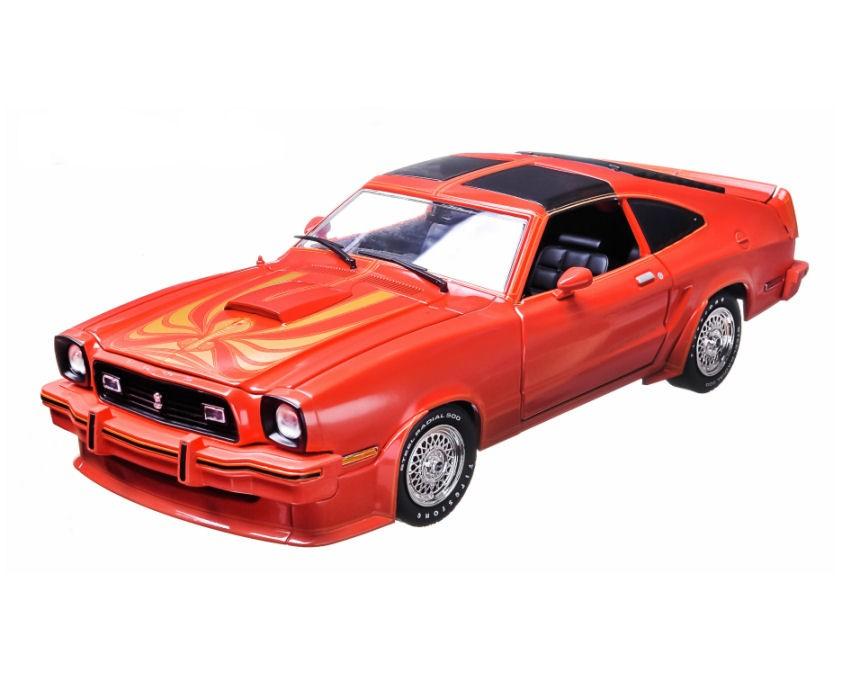 Greenlight 1978 Ford Mustang King Cobra II Red Black 1 18 ...