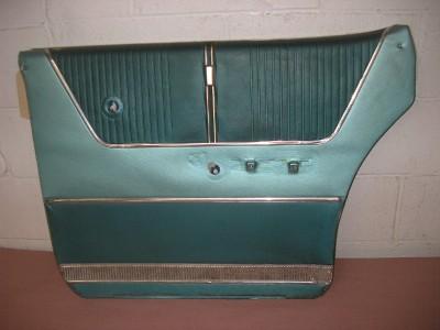 1964 Ford Galaxie 500 RH Rear Door Interior Trim Panel