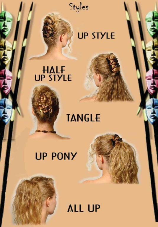 african butterfly clips make