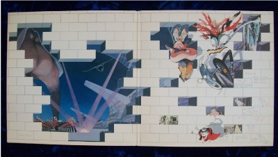 albums promotional cover pink floyd the wall 1979 2 record set art