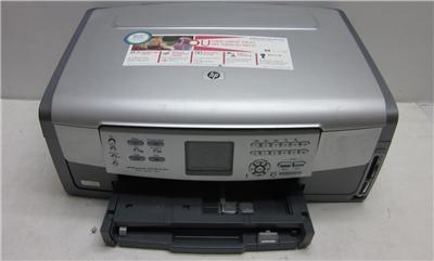 hp photosmart 3210 all in one inkjet printer scanner copier color 3200 series ebay. Black Bedroom Furniture Sets. Home Design Ideas