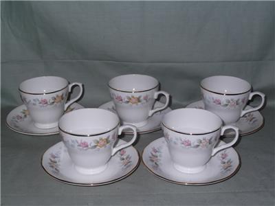 5 mayfair alpine staffordshire bone china coffee cups for Alpine cuisine coffee cups