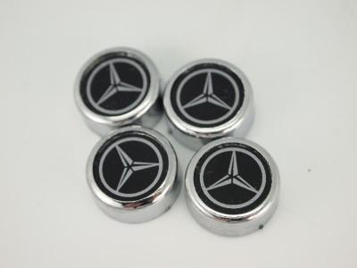 4 mercedes benz license plate frame holder logo bolts for Mercedes benz tag screws