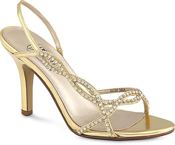 suzette in gold bridal prom evening shoes med wide ebay
