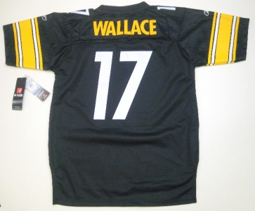 NFL Reebok Pittsburgh Steelers Mike Wallace Stitched/Premier Youth