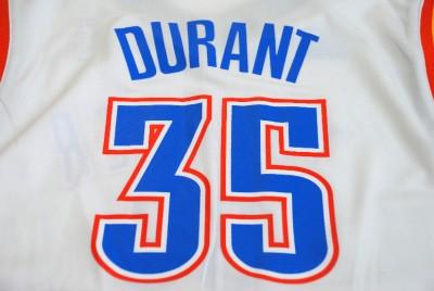 NBA Adidas Oklahoma City Thunder Kevin Durant Youth 2012 Home Jersey