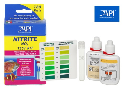 New Api Aquarium Fish Tank Nitrite No2 Test Kit For Water