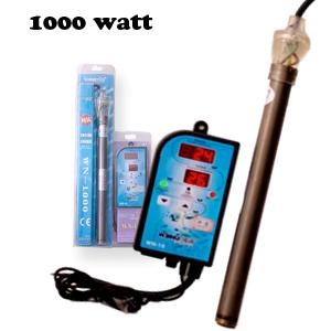 Aqua Aqaurium Titanium Submersible Pond Heater And Digital Controller 1000 Watt Ebay